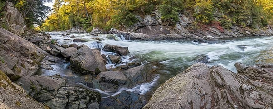 Presumpscot Falls by Tim Sullivan