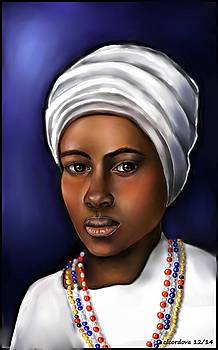 Priestess of Santeria by Carmen Cordova