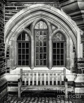 Princeton University Bench by Jerry Fornarotto