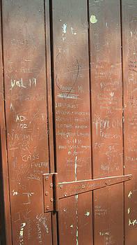 Prison Graffiti by Emma Frost