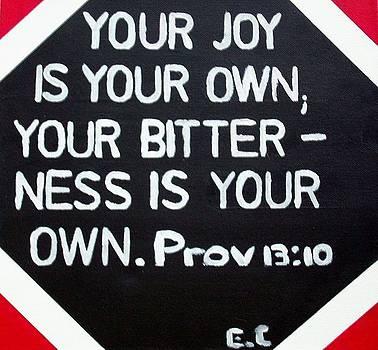 Proverbs by Eloudi Coetzer
