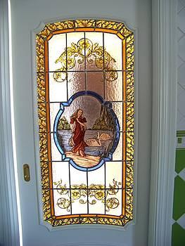 Puerta de paso motivo griego by Justyna Pastuszka