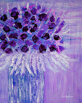 Purple Hue by Dick Bourgault