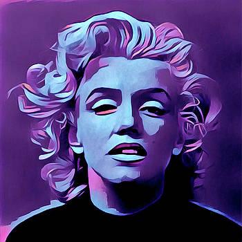 Purple Marilyn by Gary Grayson