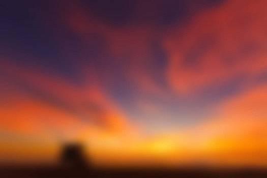 Purple Orange Sunset by Debbie Wassmann
