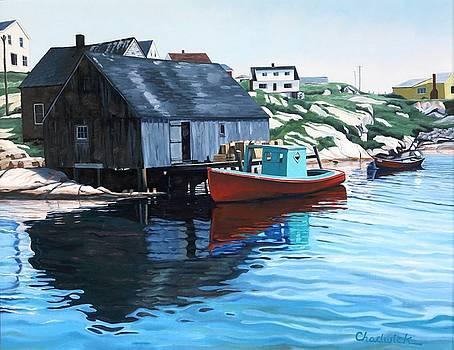 Quaint Cove by Phil Chadwick