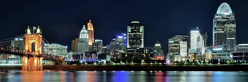 Queen City Pano by Frozen in Time Fine Art Photography