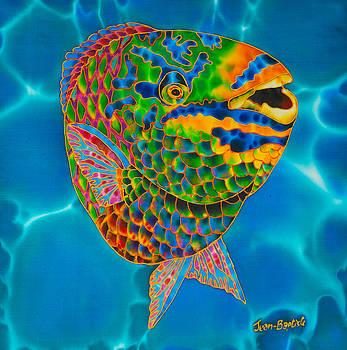 Queen Parrotfish by Daniel Jean-Baptiste