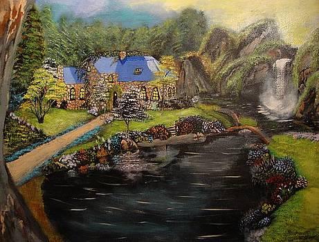 Rainforest Cottage by Julio Palomino
