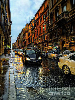 rainy night in Rome by HD Connelly