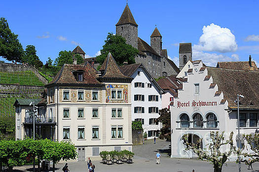 Rapperswil in St Gallen Switzerland by Louise Heusinkveld
