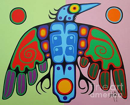 Raven by Jim Oskineegish