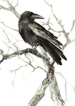 Raven on the Tree by Suren Nersisyan