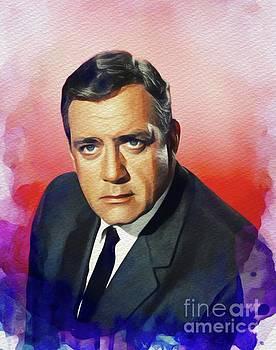 John Springfield - Raymond Burr, Vintage Actor