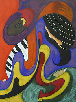 Reading with music by Marta Giraldo