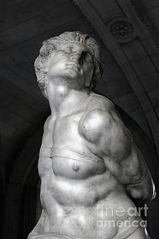 Gregory Dyer - Rebellious Slave by Michelangelo