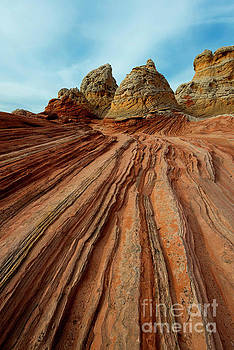 Red Desert Lines by Mike Dawson