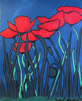 Lucie Buchert - Red Poppies
