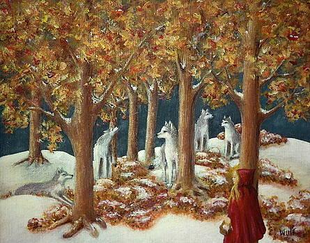 Bernadette Wulf - Red Ridinghood Comes Home