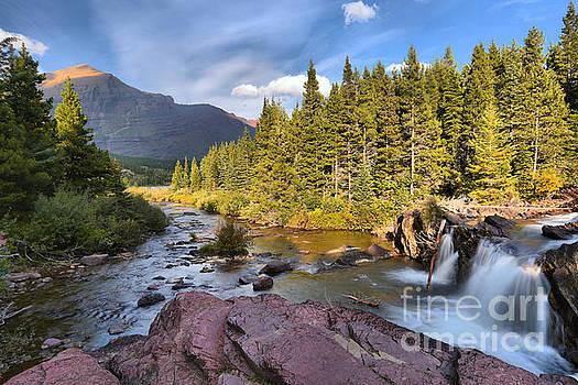 Adam Jewell - Red Rock Falls Landscape