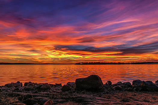 Red Sunset by Doug Long