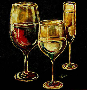 Red White and Bubbly by Vickie Warner