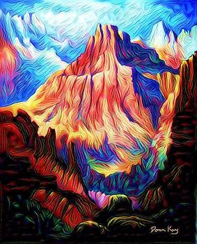 Redder Mountain by Donn Kay