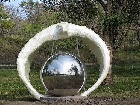Reflections Sculpture by Wayne Pruse