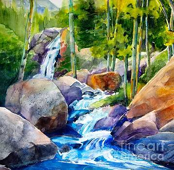 Refreshing Sparkling Waterfall by Reveille Kennedy