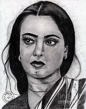 Rekha by Bobby Dar