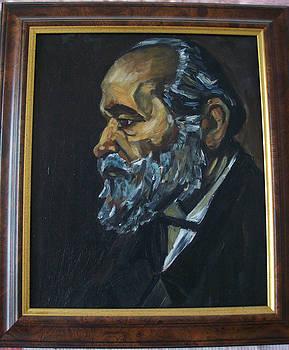 reproduction of Van Gogh by Larisa M