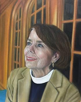 Rev Jean Dodd by Mitzisan Art LLC