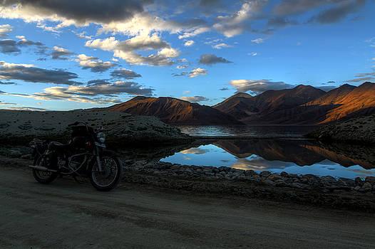Rohit Chawla - Rider at Pangong