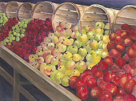 Roadside Apples by Wendy Cunico