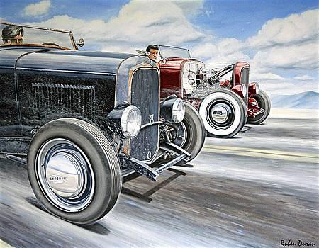 Roadster Race by Ruben Duran