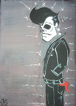 Rockabilly Ghost by Jose Garcia