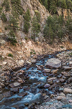 Rocky Mountain Stream by James BO Insogna
