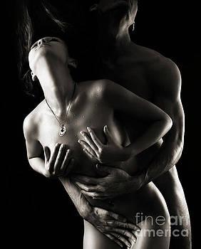 Romantic Nude Couple Making Love by Oleksiy Maksymenko