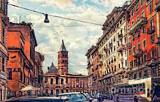 Justyna Jaszke JBJart - Rome street