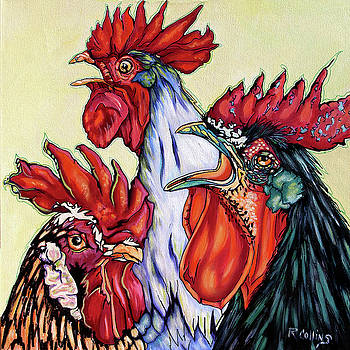 Rooster Coffee Glutch by Rose Collins