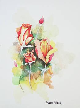 Rose Bed by Lauren Penha