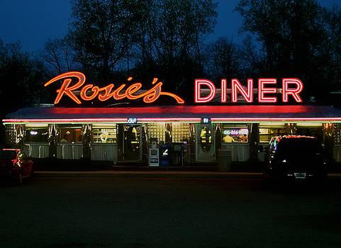 Rosie's Diner by Odd Jeppesen