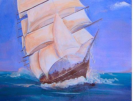 Rough Seas by Catherine Swerediuk