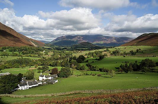 Rowling End from the Newlands valley by Pete Hemington