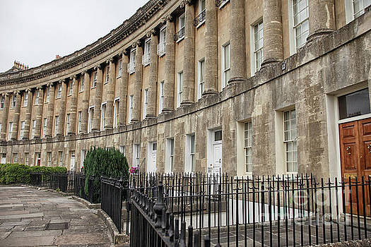 Royal Crescent in Bath by Patricia Hofmeester