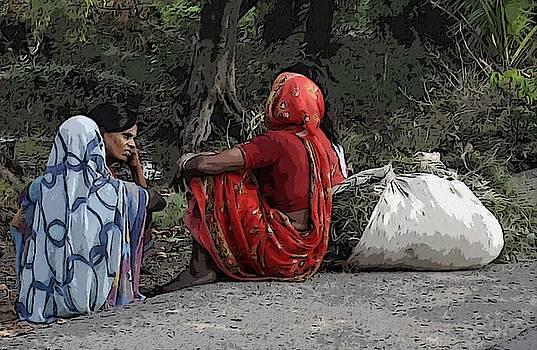 Bliss Of Art - Rural Indian Ladies