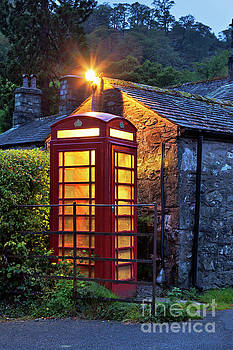 Rural Telephone Box, England by David Bleeker