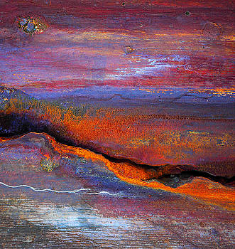 Rust sunset by Paul Parsons