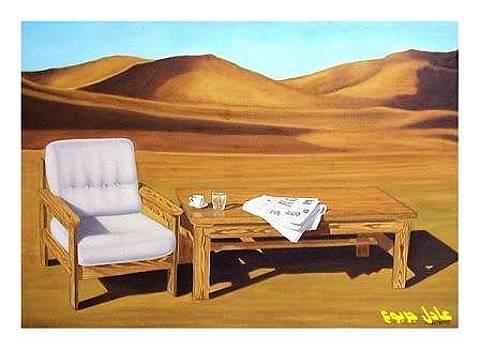 Sahara .. by Adel Jarbou