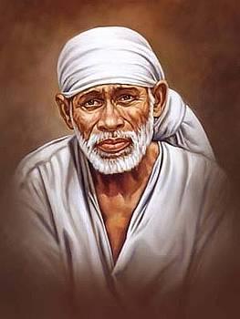 Saibaba Portrait by Milind Shimpi
